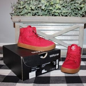 🆕️ Toddler Supra Vaider Sneaker High Tops Size 8